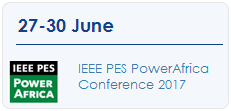 IEEE PES PowerAfrica Conference 2017