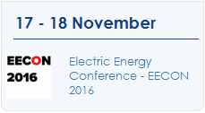 Electric Energy Conference � EECON 2016