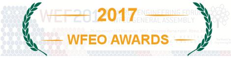 WFEO Awards 2017