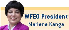 WFEO President Marlene Kanga