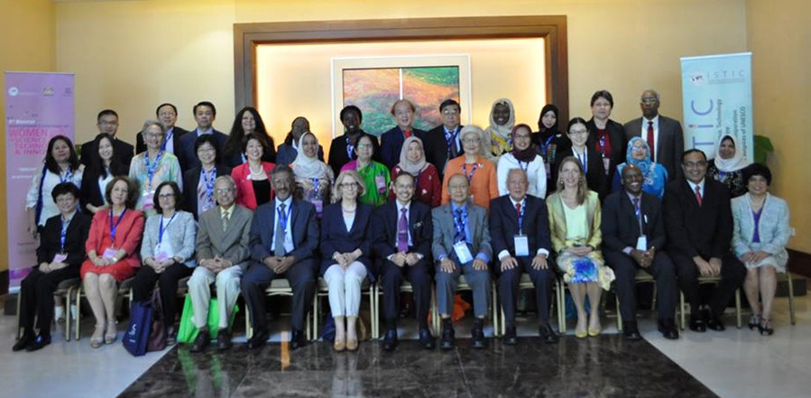 Speakers and Panellists at the 3rd International UNESCO ISTIC Conference on Women Engineers and Scientists