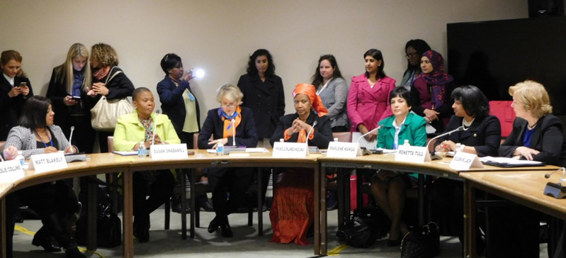 Speakers at the UNESCO Forum on Women in Engineering