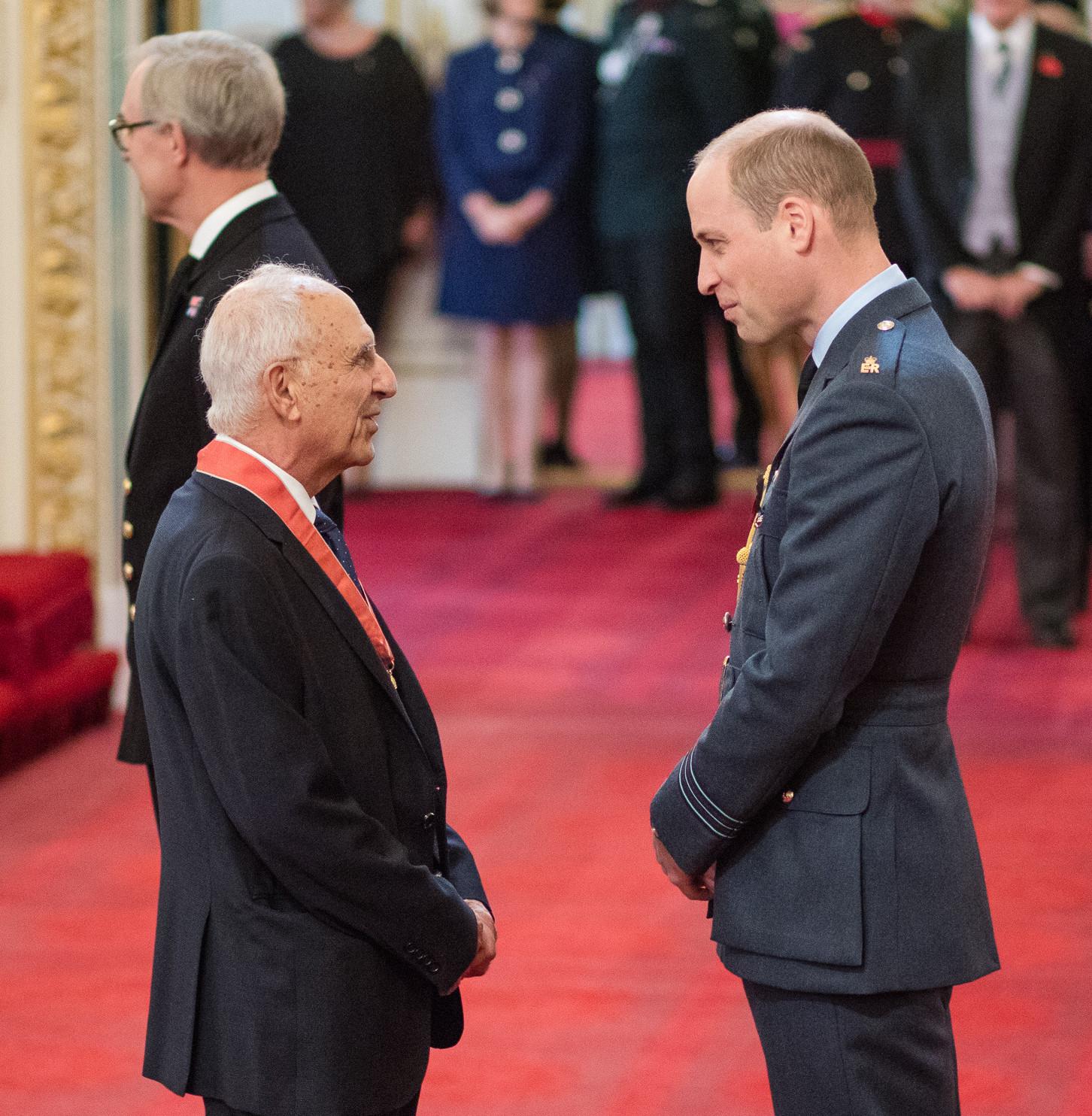 Prof. Haro Bedelian and Prince William