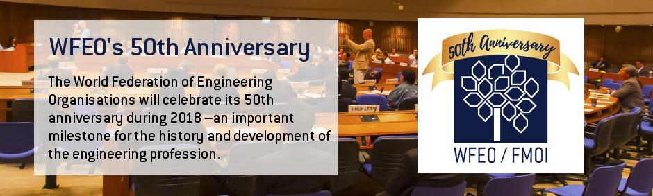 WFEO's 50th Anniversary