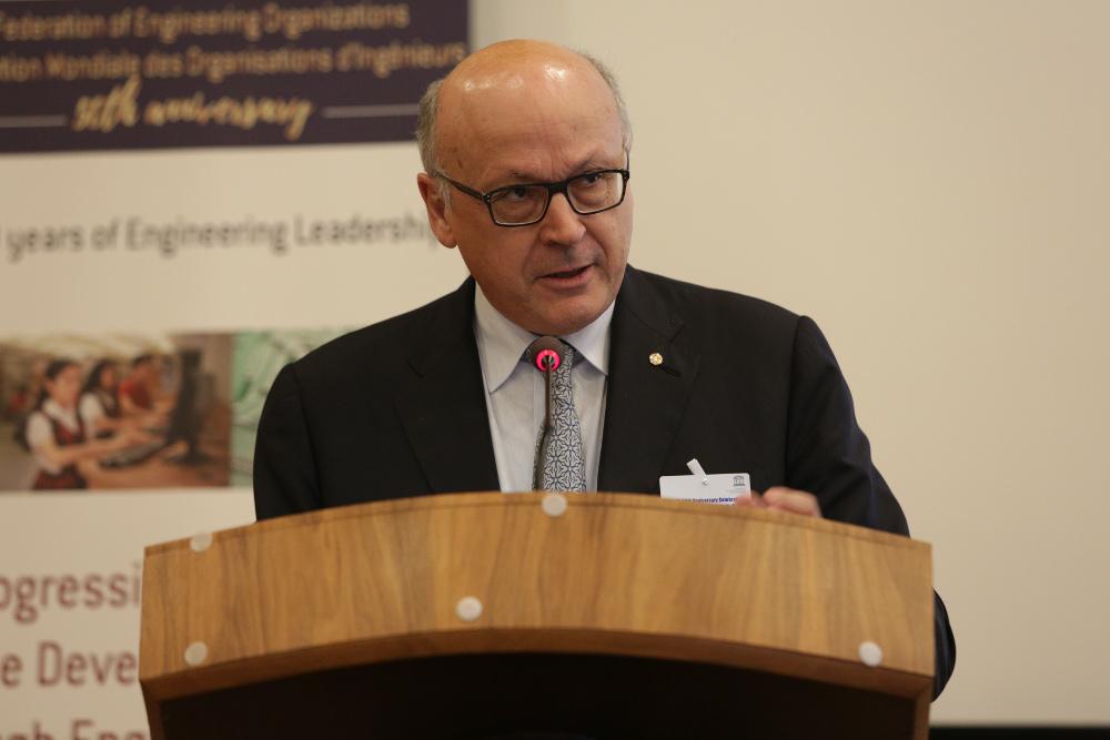 Mr. Alain Bentejac, President FIDIC, Federation of International Consulting Engineers