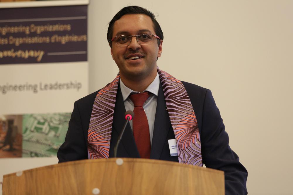 Prof. Yashin Brijmohan, Chair WFEO Capacity Building Committee, Chair Committee on International Education