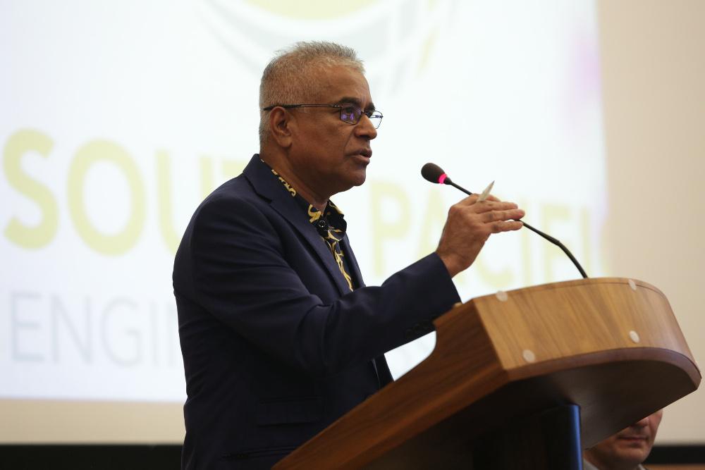 Mr. Pratarp Singh, Past President Fiji Institution of Engineers, WFEO national member