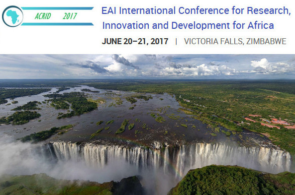 EAI International Conference for Research, Innovation and Development for Africa - ACRID 2017