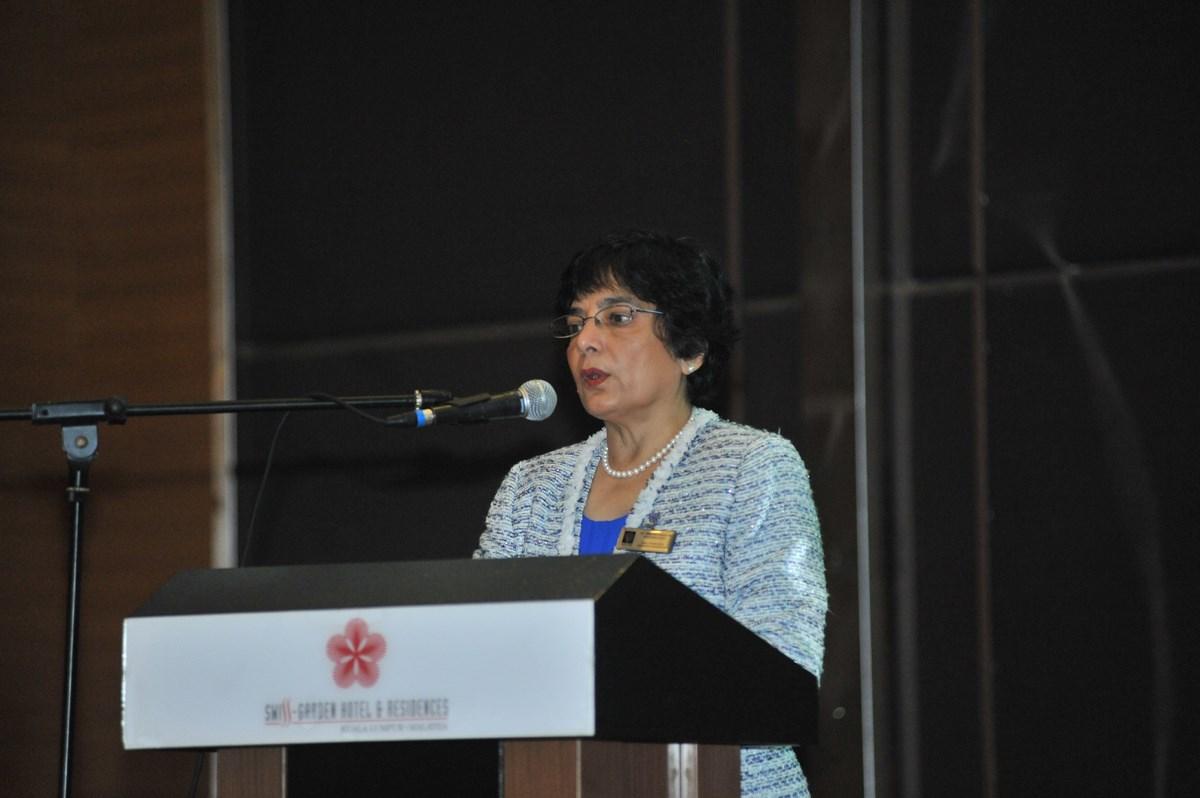 WFEO President Elect Dr. Marlene Kanga