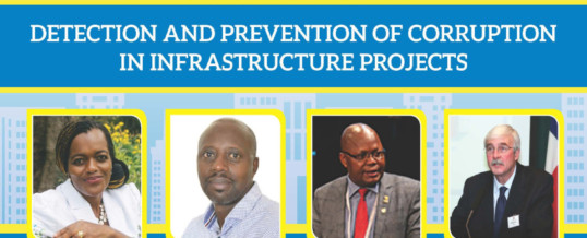 Webinar on Detection and Prevention of Corruption in Infrastructure Projects
