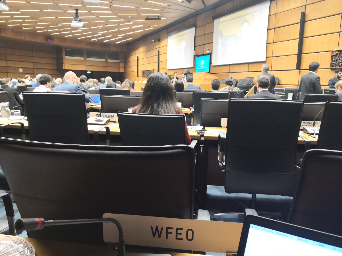 WFEO Report on the 46th UNIDO Industrial Development Board 2018
