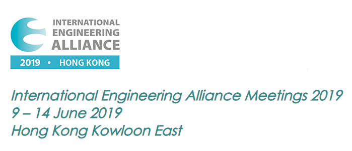 WFEO participation at the International Engineering Alliance Meetings 2019
