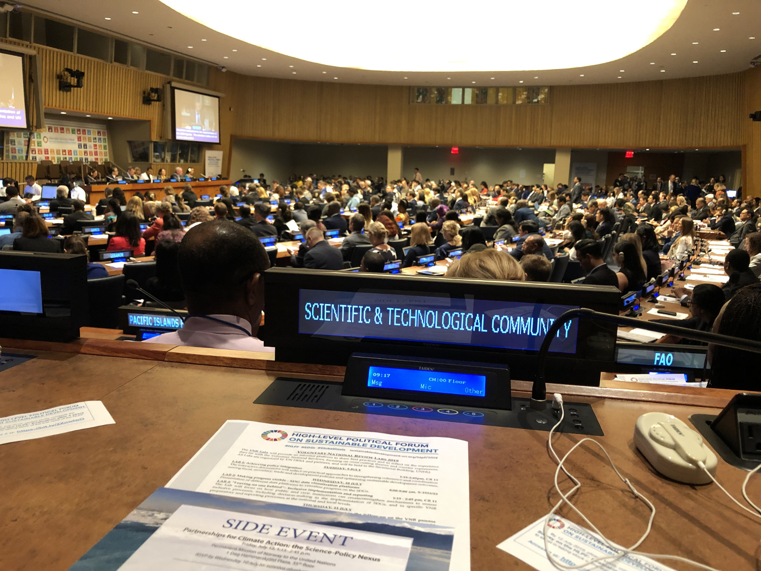Opening of the HLPF2019