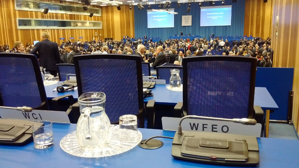 WFEO at the 60th IAEA General Conference