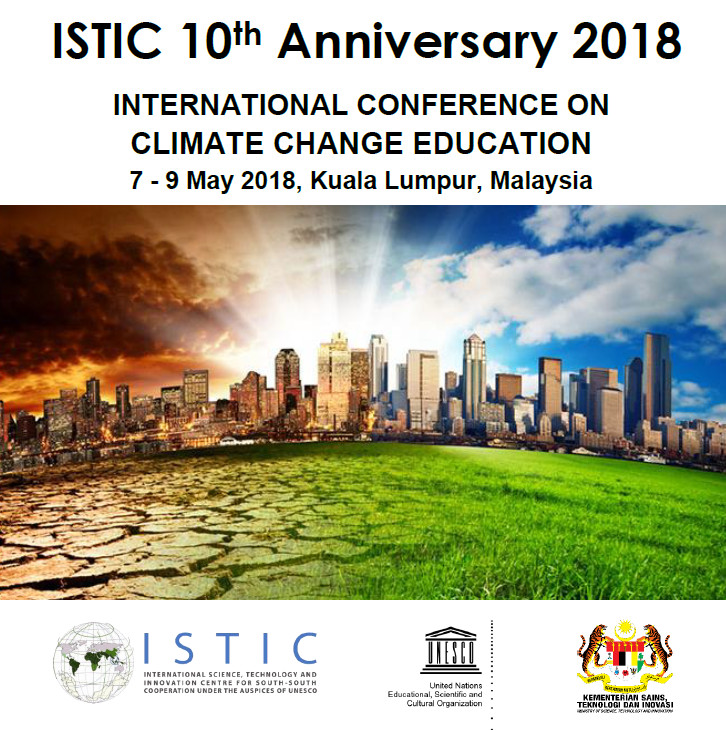 ISTIC 10th Anniversary celebration and International Conference on Climate Change Education