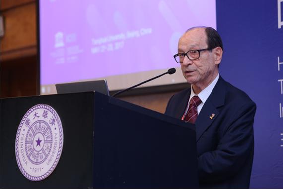 WFEO President Jorge Spitalnik