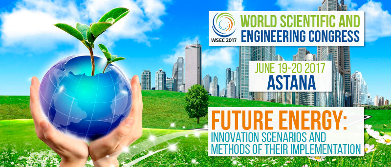 WFEO participation at the World Scientific and Engineering Congress - WSEC 2017