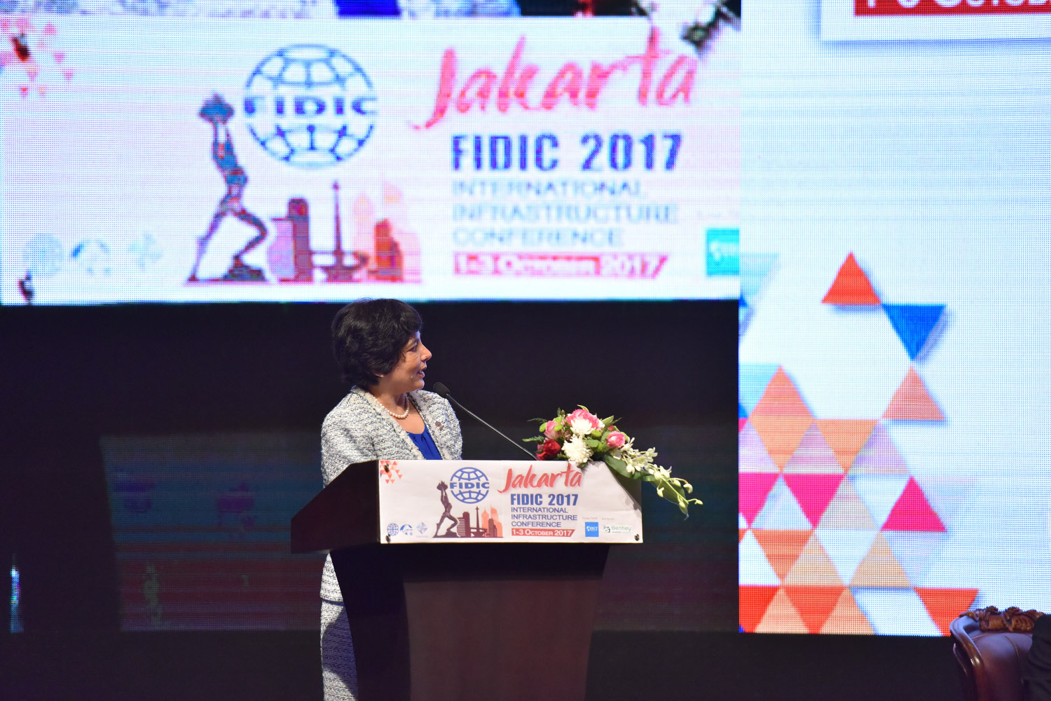 Dr. Kanga presents at the FIDIC 2017 Conference on Infrastructure Resilience - 2 October 2017