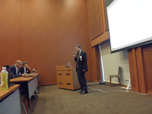 Prof. Komatsu's opening remarks