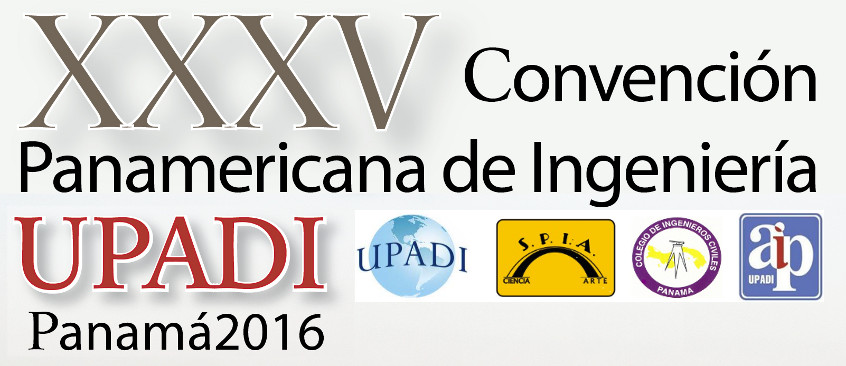 UPADI Panama 2016 – Continental Engineers Congress of ocean, coastal, rivers, channels and lagoons