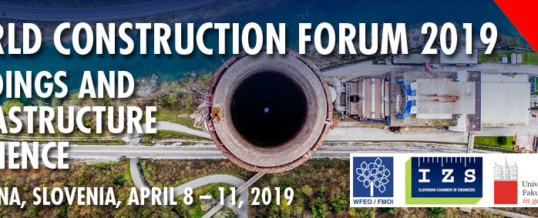 World Construction Forum 2019 – WCF2019