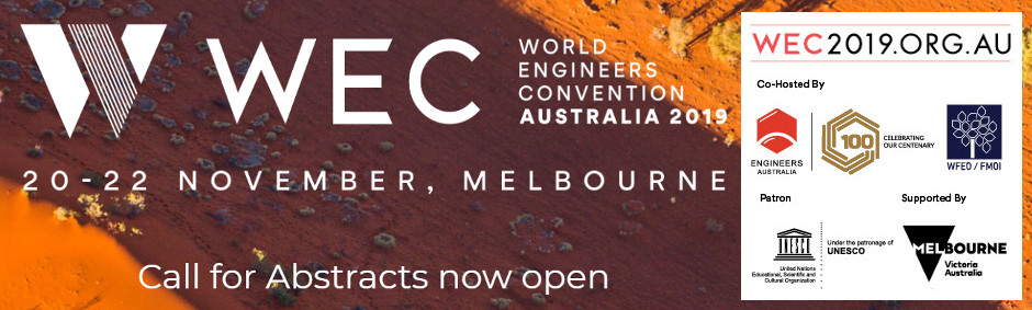 World Engineers Convention 2019 - WEC 2019