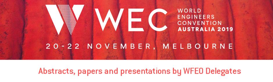 World Engineers Convention 2019 - WEC 2019