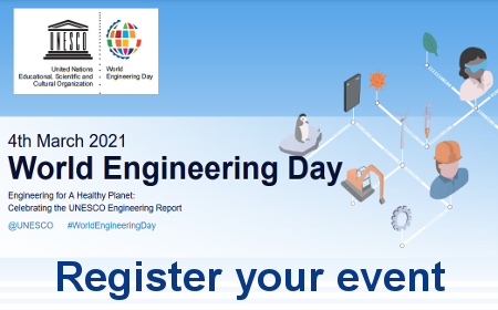 Register your World Engineering Day 2021 event