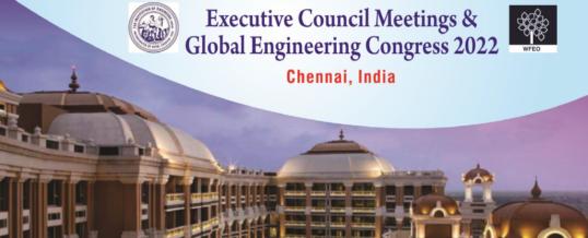 WFEO Executive Council Meetings 2022