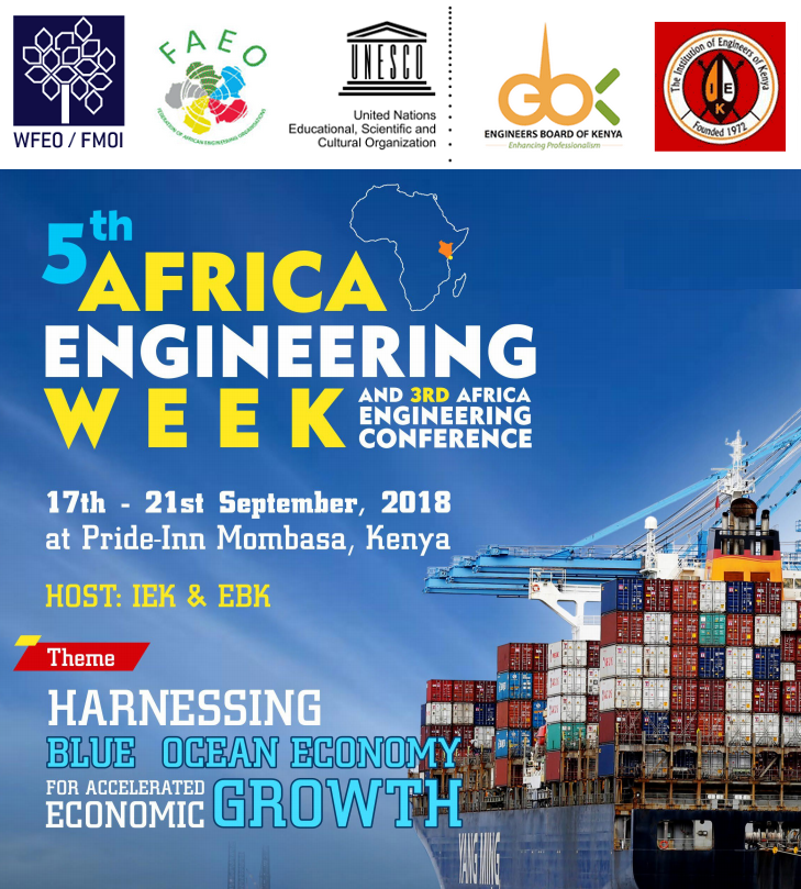 Report of the 5th Africa Engineering Week