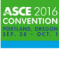 ASCE 2016 Convention