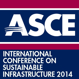 2014 ASCE International Conference on Sustainable Infrastructure