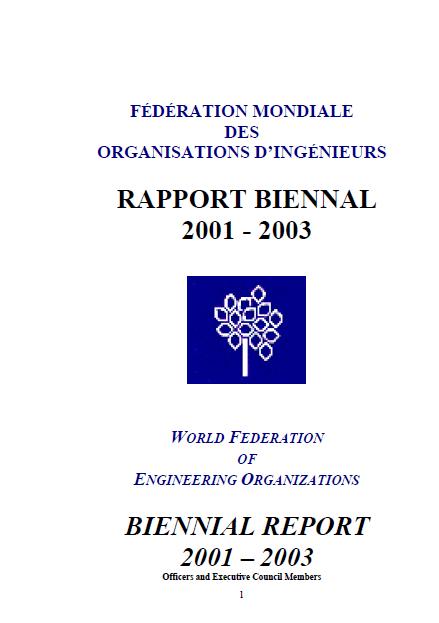 Biennial Report 2001-2003