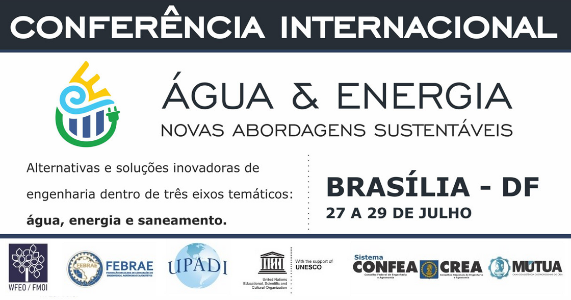 International Conference Water and Energy – New sustainable approaches