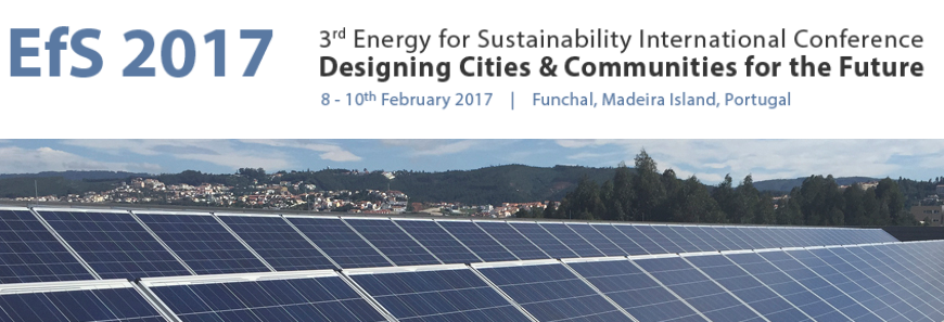 Energy for Sustainability International Conference 2017