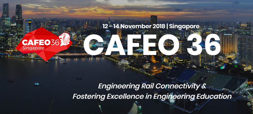 CAFEO 36 – Conference of the ASEAN Federation of Engineering Organisation 2018