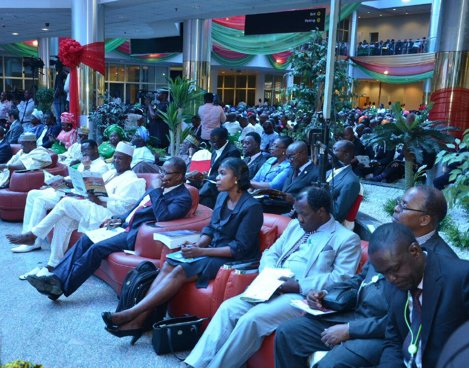 A cross section of participants at the conference