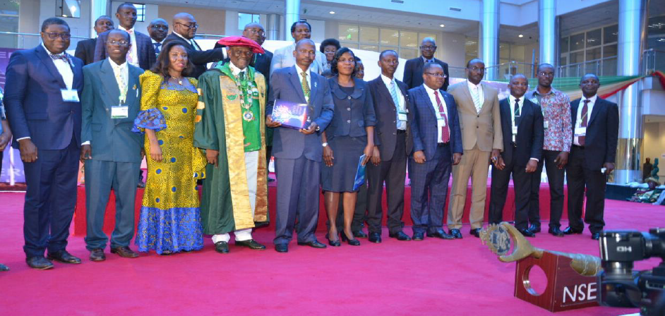 FAEO President with Presidents of sister Engineering organisations from Africa