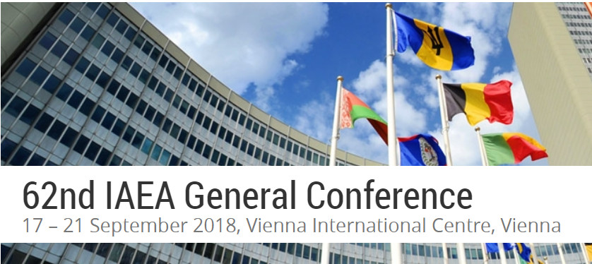 WFEO participation in the 62nd IAEA General Conference