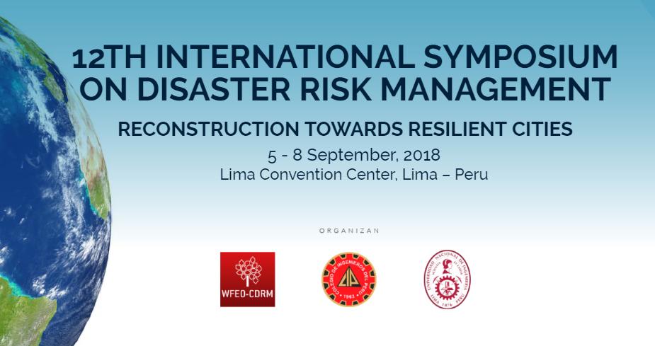International Symposium on Disaster Risk Management
