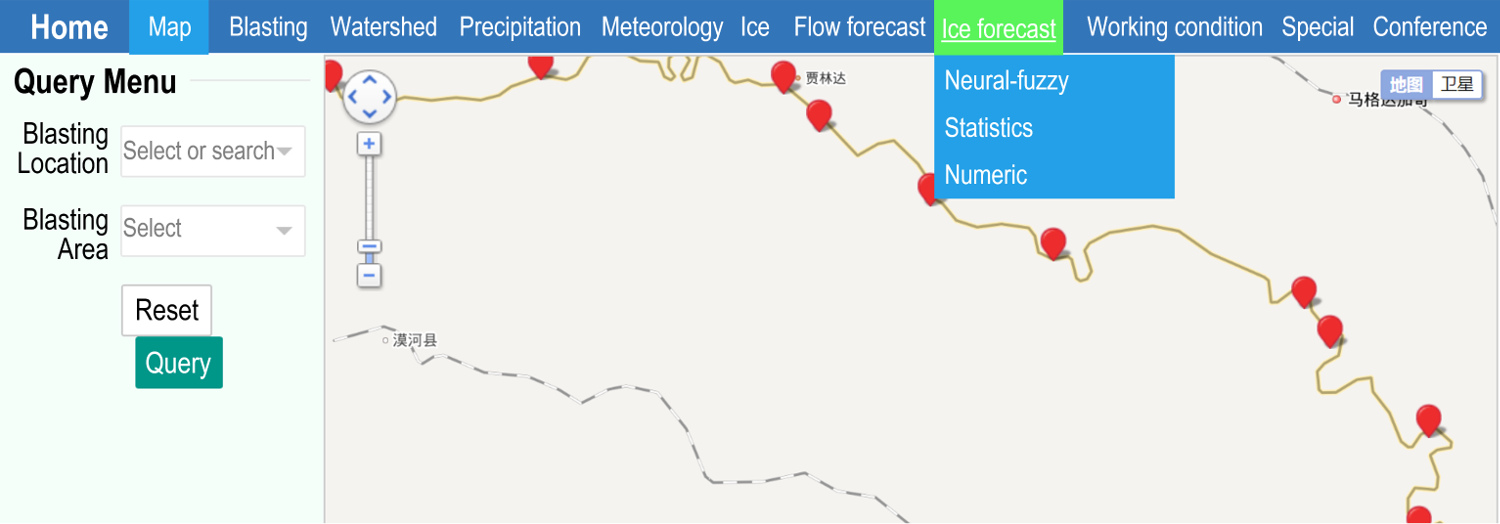 Ice flood prediction and forecast system