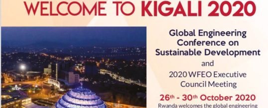 Global Engineering Conference – Kigali 2020