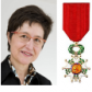 Marie-Hélène Therre was made Officer of the Legion of Honor