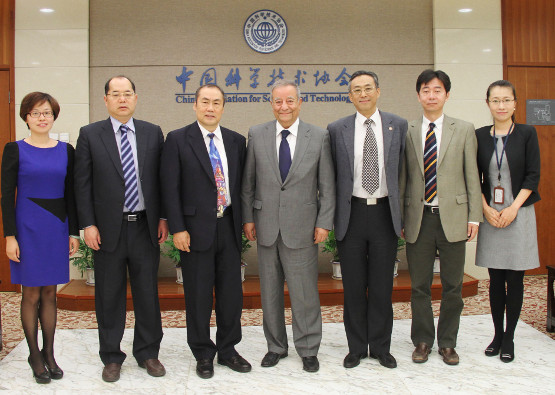 Marwan Abdelhamid attended meetings with the China Association for Science and Technology