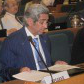President Adel Al-Kharafi attends the ICSU General Assembly
