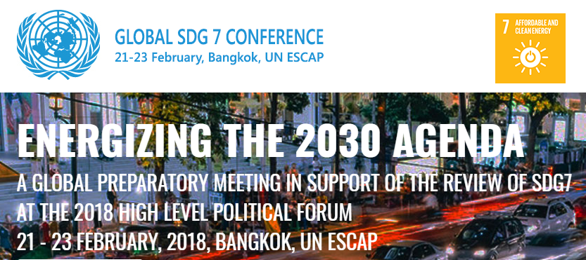 Global SDG 7 Conference on Energy