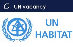 UN Habitat job vacancy of Executive Director