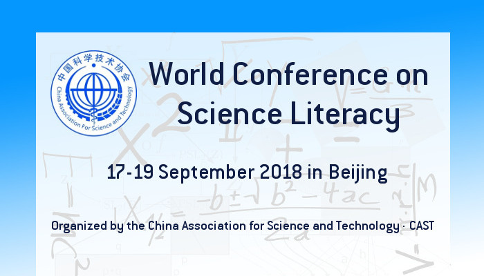 World Conference on Science Literacy 2018