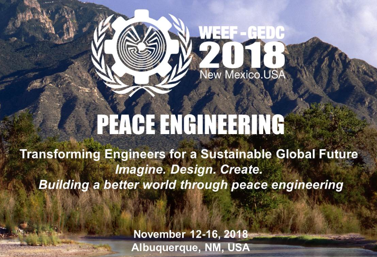 WEEF - GEDC 2018 - Peace Engineering