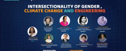WFEO WIE webinar on Women and Climate Change